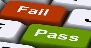 Pass Or Fail Keys To Show Exam Or Test Results